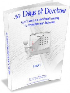 30 day devotions - Book 1